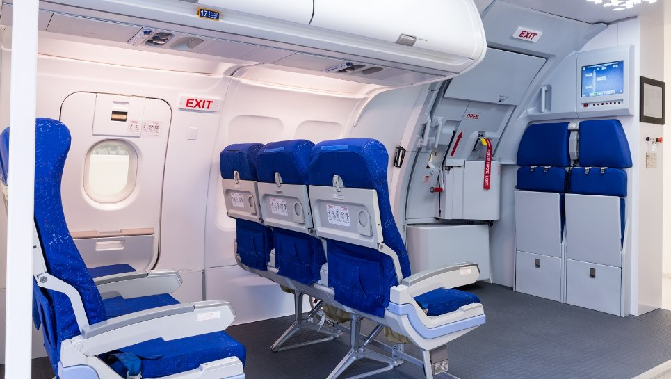 First Airbus A320 Door and Slide Trainer in the Baltic States