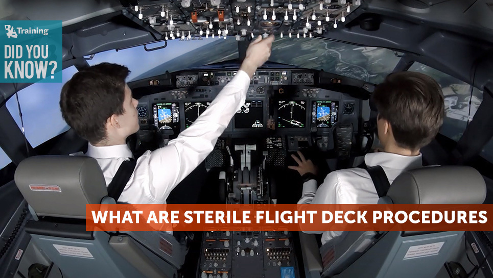 What-Are-Sterile-Flight-Deck-Procedures