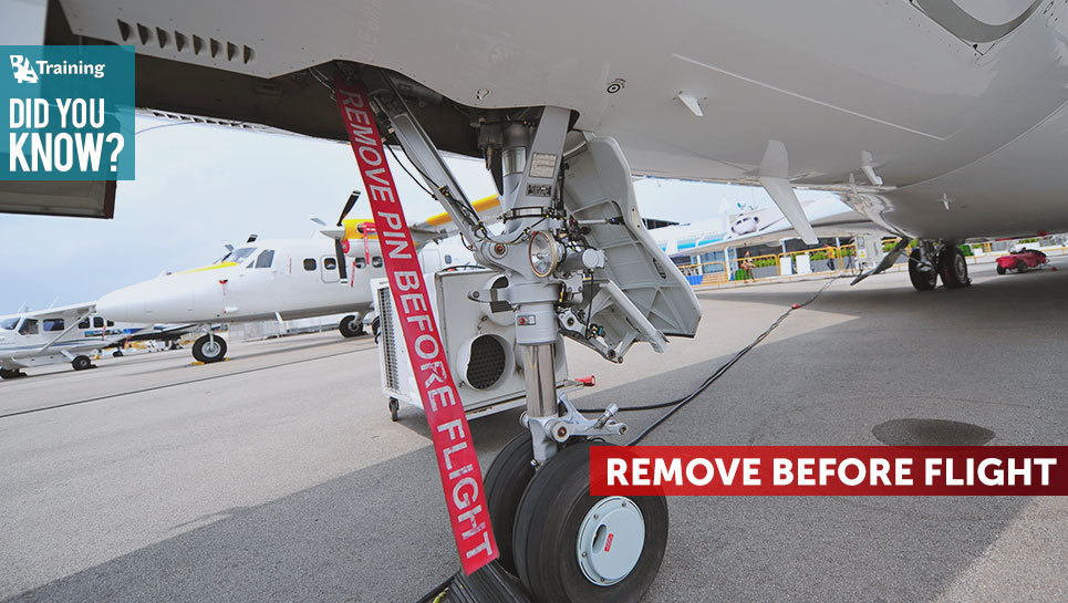 """What Are The """"Remove Before Flight"""" Tags On The Aircraft For?"""
