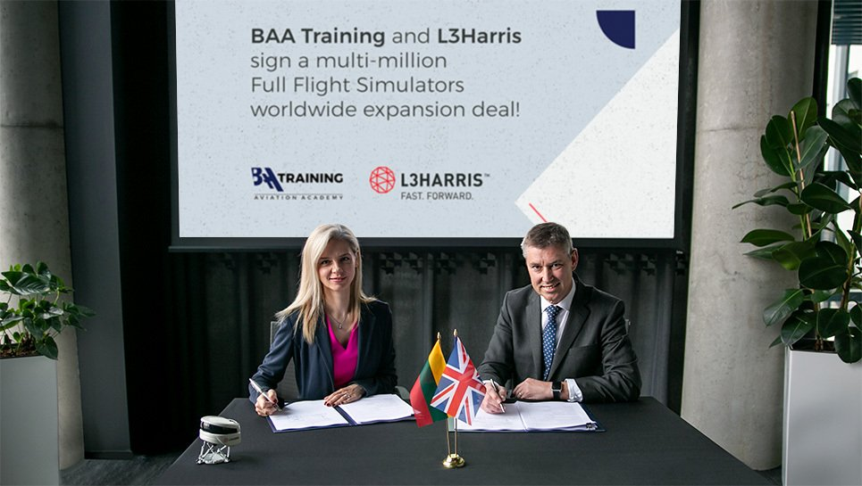 BAA Training and L3Harris Technologies sign a multimillion-dollar deal