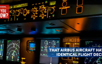 Did You Know That Airbus Aircraft Have Identical Flight Decks?